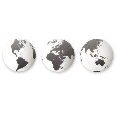 GLOBO WD SET OF 3 BLACK 470316-040