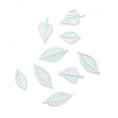 NATURA WALL DECOR 9 WHITE 470401-660