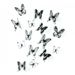 CHRYSALIS WALL DECOR BLK/CLR 470340-188