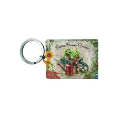 Key Chain English Flower Garden