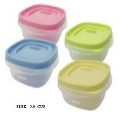 FOOD CONTAINER 3.0 CUP SQ EASY FIND LIDS