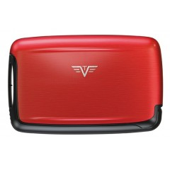 PEARL CARD CASE RED PEPPER