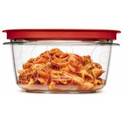 FOOD CONTAINER PREMIER 5CUP RED 7M84