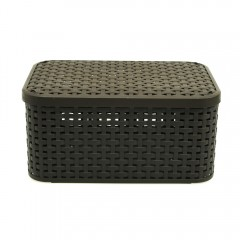 STYLE BOX S V2 AND LID DARK BROWN 205839