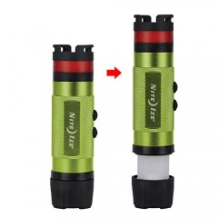 LED 3IN1 MINI FLASHLIGHT LIME NL1A-17-R7