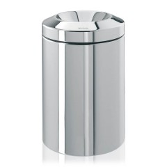 FLAME GUARD PAPER BIN 15L BRSTEEL 378881