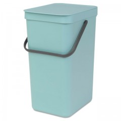 WASTE BIN SORT & GO 16L MINT 109843