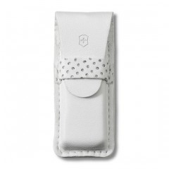 TOMO LEATHER POUCH WHT 4.0762.7